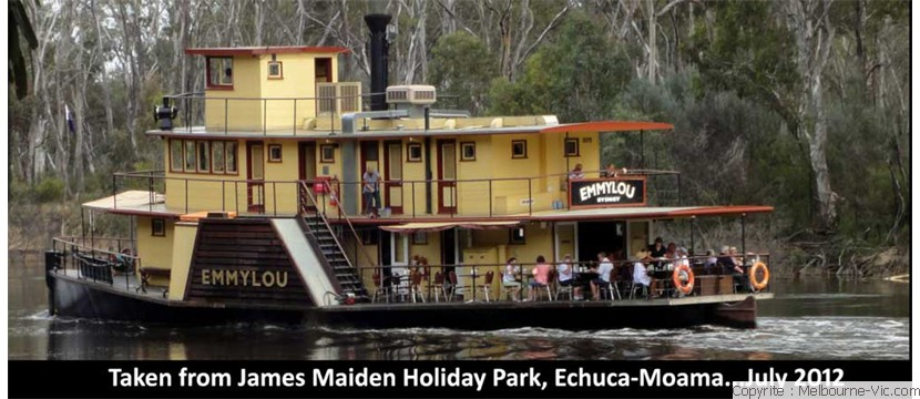 River Boat at Echuca