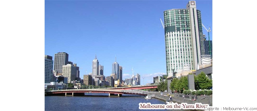 River Yarra at Melbourne