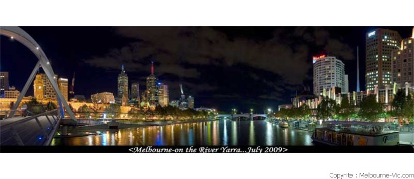 Melbourne by the Yarra